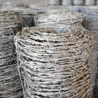 西安12*14号双股编织刺绳一吨报价-刺丝围网全国折扣价