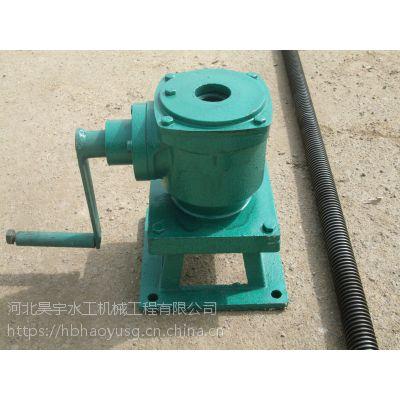 河北省昊宇水工QL-300KN-SD螺杆式启闭机厂家特卖