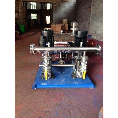 安康无塔恒压成套供水设备 安康叠压无负压供水成套全自动变频恒压 RJ-2687