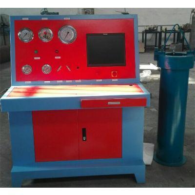 呼吸气瓶(外测法)水压试验机--气瓶外测法水压测试台--海德诺