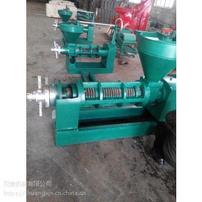 125花生螺旋榨油设备 双象榨油机