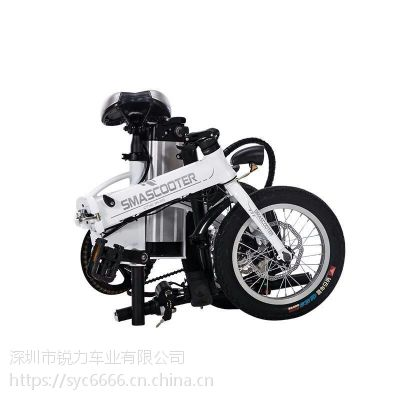 松裕锂电折叠自行车深圳厂家销售