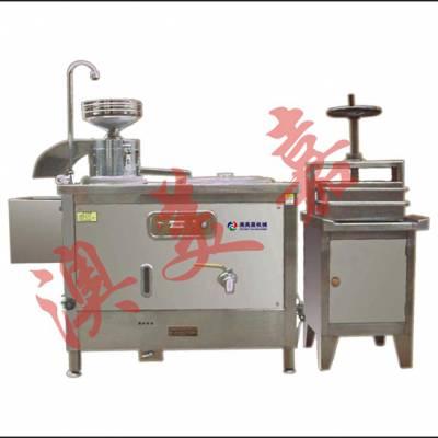 惠州豆腐机械,蒸汽加热东莞做豆腐机器,澳美嘉深圳全自动豆腐机