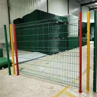 停车场防护网 桥梁防护网 隔离栅厂家