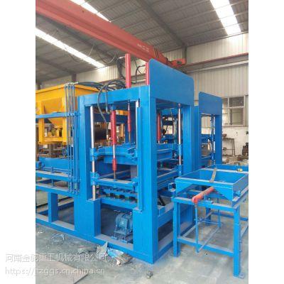 供应水泥切块砖机 全自动水泥砖设备 (金驼)液压型面包砖机