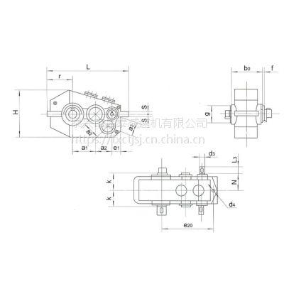 昌泰QJYD23-335硬齿面齿轮减速器|维修