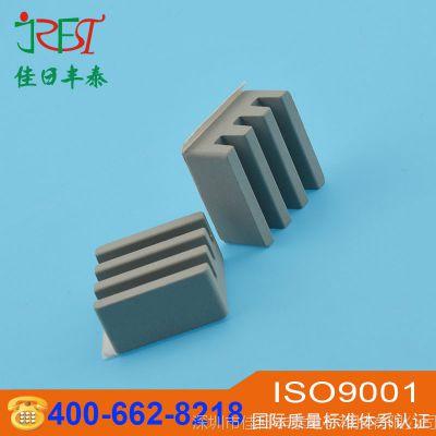 电子元件用高散热碳化硅陶瓷片 碳化硅陶瓷板散热片 导热绝缘材料