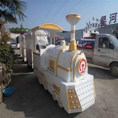 观光小火车、无轨火车ggxhc儿童游乐设备三星厂家定制各个规格