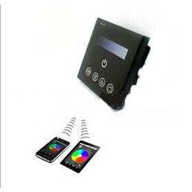 led灯调光器 0-10v线性 手机WIFI群组控制系统 触摸调光器