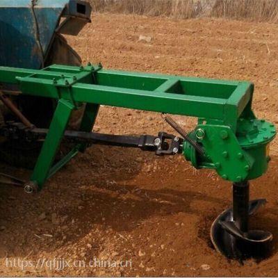 金佳机械 挖坑机 拖拉机带挖坑机 后悬式挖洞机厂家
