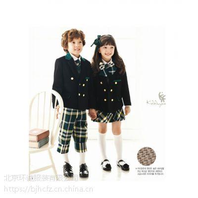 童装校服定制 贵族学校校服 英伦国际校服设计 学生装加工 环诚制衣
