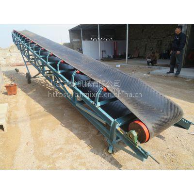 耐高温加厚皮带运输机 650宽长距离皮带输送机 浩发