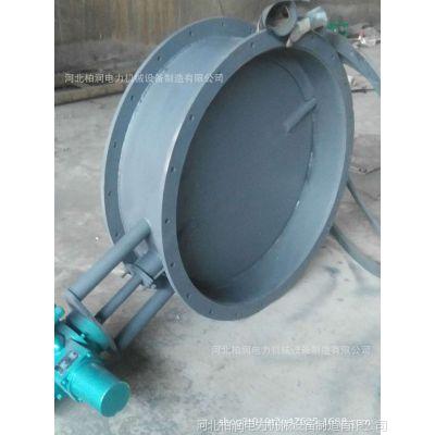 单双层挡板门 电动插板式隔绝门 锅炉配件生产厂家