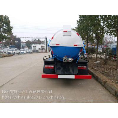 东风吸污车 神狐牌HLQ5071GXWE5型吸污车