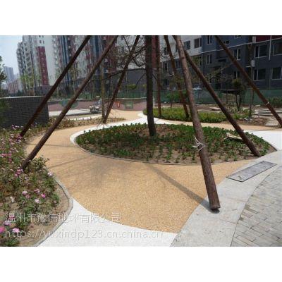 温州水磨石地坪工程 豫信地坪 色彩鲜艳装饰效果好彩色沙粒可形成美观表面