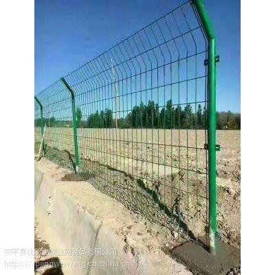 光伏发电站围栏 包塑铁线牧场隔离护栏网-安平县优盾丝网厂家