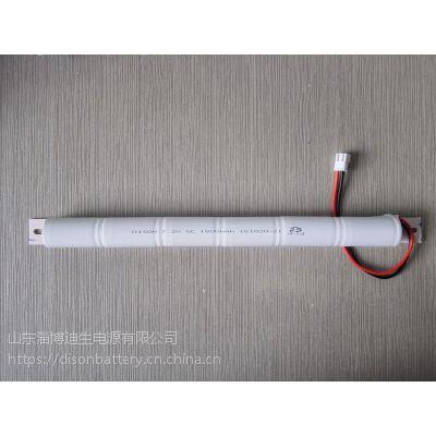 供应DISON迪生镍镉6V SC1800mAh 充电电池应急灯具 镉镍电池NI-CD