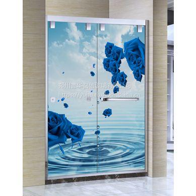 河南夹丝淋浴房 安全夹胶淋浴房,就选郑州誉华夹丝玻璃厂