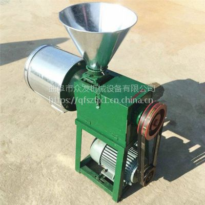 高品质家用磨面机 多功能去皮面粉机 小麦粮食加工成粉