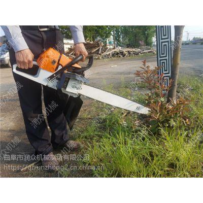 节省大量人工成本挖树机 德国技术链条式挖树机