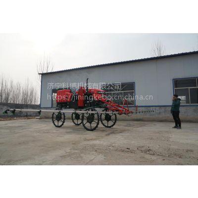 农田高效率柴油喷雾车 科博机械大型农场浇水打药车 宽幅拖拉机打药机