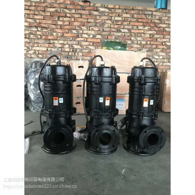 厂家供应 固定式 移动式潜水排污泵 污水泵叶轮采用流道或双流道形式