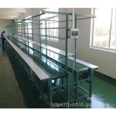 生产 手推式双边插件线 非标订做组装流水线 皮带输送流水线由永利直销