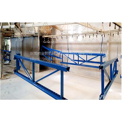 厂家热销全自动喷粉喷塑生产线 五金货架喷涂设备流水线 粉末涂装设备