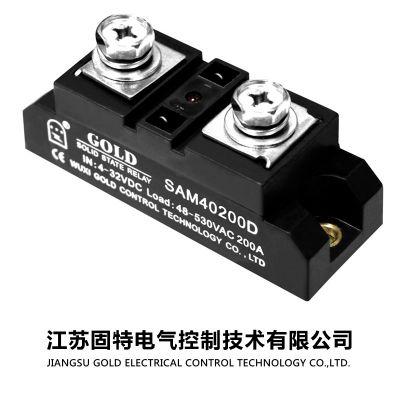 【固态继电器 24v】串电阻限流型工业级单相固态继电器 SAM4040D 江苏固特旗舰店