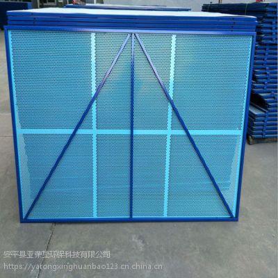 折弯型爬架网生产A06镀锌板楼层外围网A爬架网生产厂家