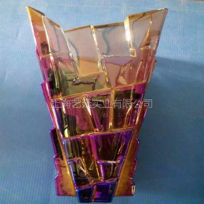 玻璃制品真空电镀、真空镀膜加工、电镀彩金上海扑克房app实业