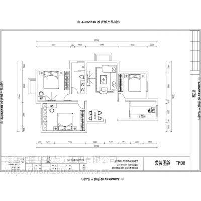 【鸿图装饰】桦林彩云城110平米现代风格装修设计方案