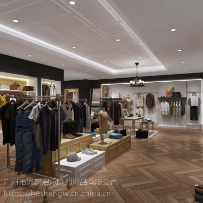 店铺服装陈列设计,衣服陈列架,展示道具出售