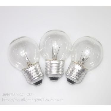 白炽灯 钨丝灯 G45灯泡 爱迪生灯泡 钨丝发光 可调光 1800K 220-240V 40W
