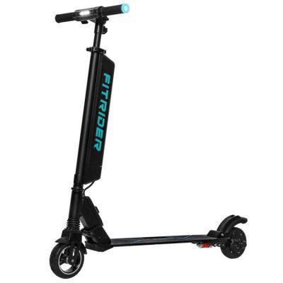 Fitrider电动滑板车F1厂家电动折叠车短途代步车6寸电机电瓶车锂电折叠滑板车