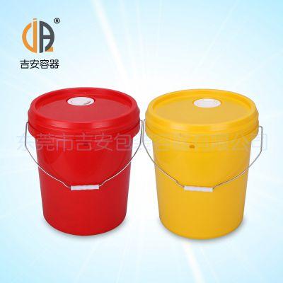 PP18L带咀机油桶 塑料桶 18升L机油咀涂料桶 化工桶