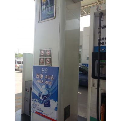 为什么全国加油站柱体装饰都选用包边铝圆角呢?