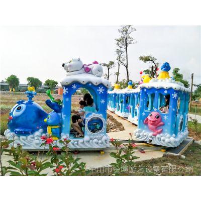 户外陆地游乐设备田园观光轨道小火车家庭游乐项目轨道过山车