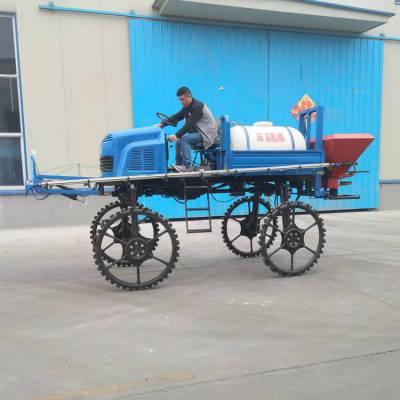 全自动大面积杀虫喷药机 四轮柴油喷雾机 500升自走式打药车