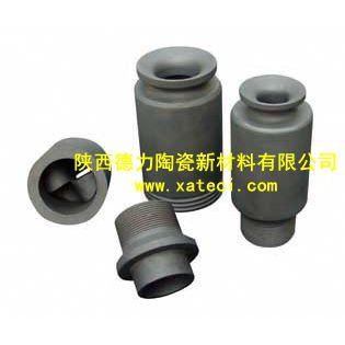供应陕西德力3寸DN80碳化硅脱硫除尘涡流喷嘴