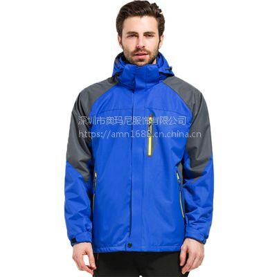 供应升级款保暖双层冲锋衣,彰显你的时尚贵族,用料100%聚酯纤维,是你出行必备的装备