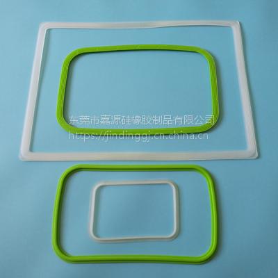 定制饭盒硅胶方形密封圈 钢化玻璃碗用防水圈 保鲜盒保温密封圈