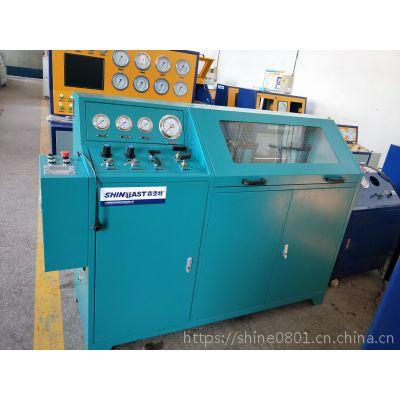 散热器扁管耐压爆破试验台 铝管件爆破压力试验机