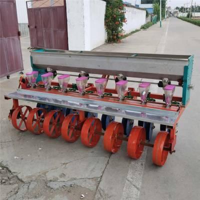 拖拉机香菜精量播种机 启航牌高产量谷子播种机 桔梗种植精播机