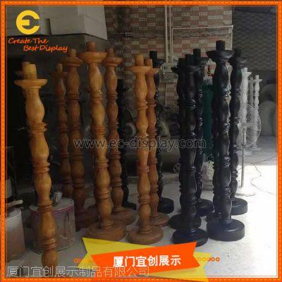 玻璃钢罗马柱 装饰柱 酒店KTV陈列道具 玻璃钢道具厂