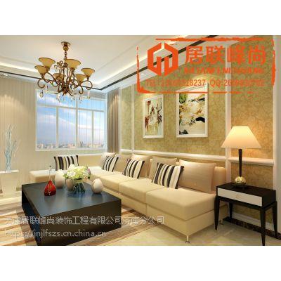 传统奢华与现代浪漫中建锦绣蘭庭120平三居室简欧风格装修效果图装修工程设计施工