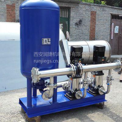 天水厂家直销 全自动变频供水设备 天水无塔供水设备 RJ-2715
