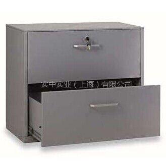 丰锰FM单排中央锁二斗文件柜FM-CIC-07DA(银灰色)金属办公家具