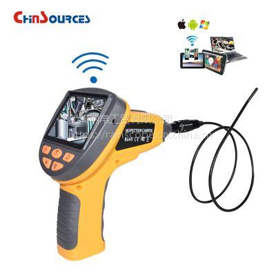Chinsources99HW 工业WiFi视频内窥镜,汽车发动机检测仪,汽车检修内窥镜