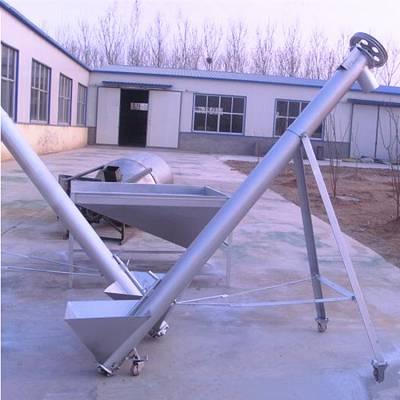 黄豆装仓用提升机 江苏常州螺旋提升机 都用管式上料机